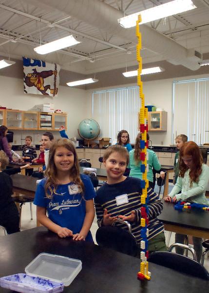 Peace Sun Prairie 2nd grade visits LLHS March 27, 2015