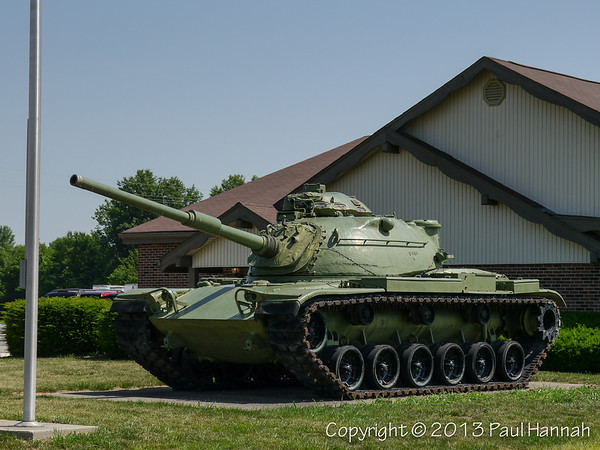 VFW Post 1925 - Seymour, IN - M60A3