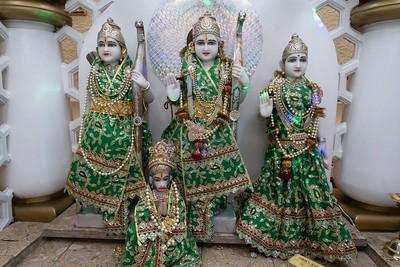 Hindu Statues Painting