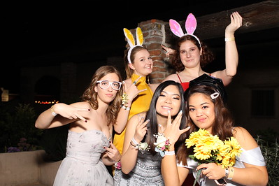 4/13/19 Foothill H.S. Prom PhotoBooth Individual Pictures