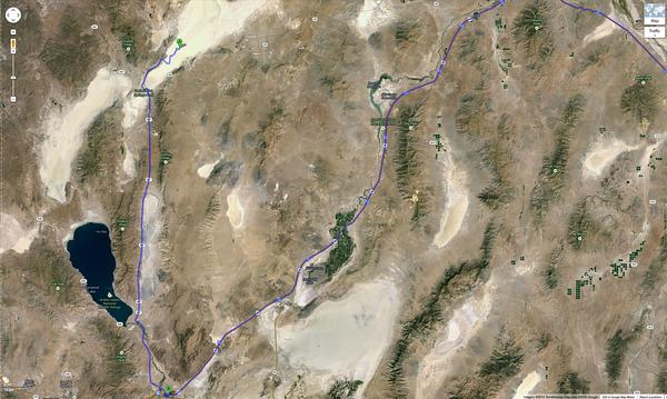 BM2013 Route