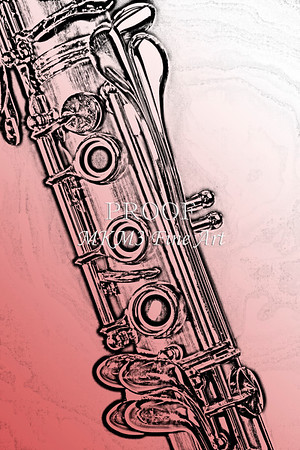 Clarinet Drawings Fine Art Photography