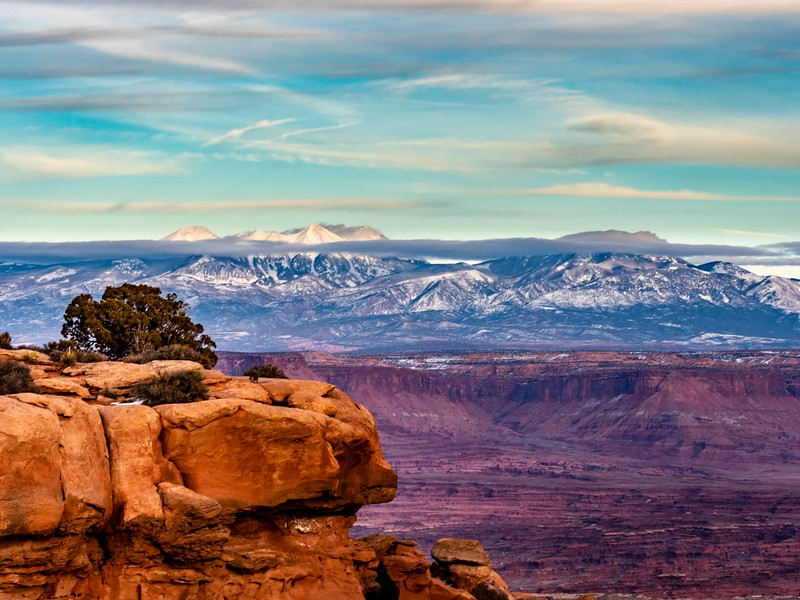 Canyonlands Scenic at sunset