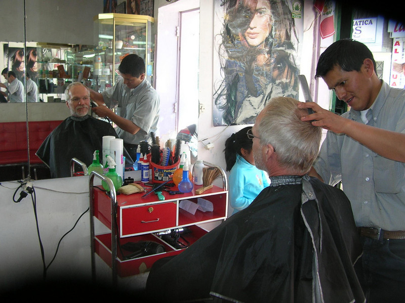 Graybeard gets a shave!