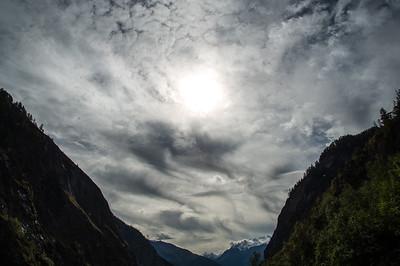 Hohe und mittelhohe Wolken