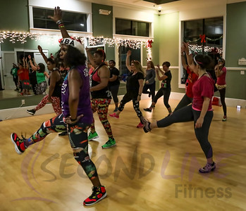 Second Line Fitness 3rd Annual Holiday Party Dec 18, 2018