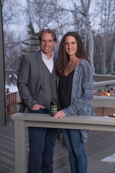 Stellios and Christine of Ioulia Olive Oil