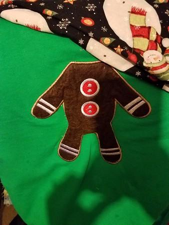 2017 Christmas pajama shirt project