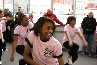 2010, February 20 vs. Muskegon - Pink day