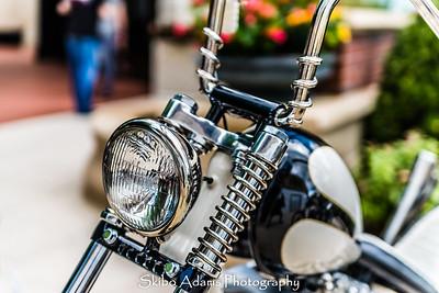 Stony Point Fashion Park Vintage Bike Show