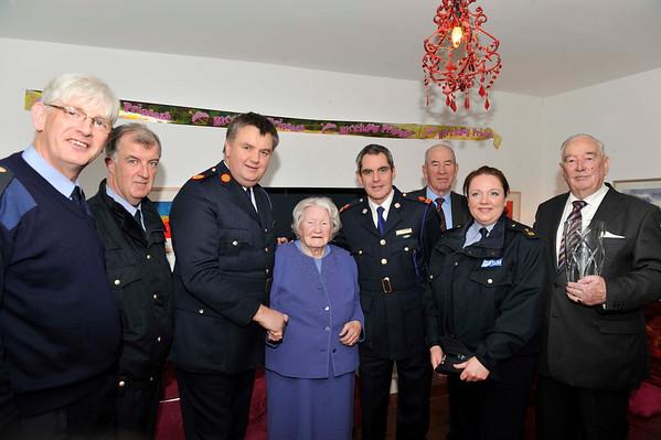 Margaret McNaught's 100th Celebration with An Garda Siochana