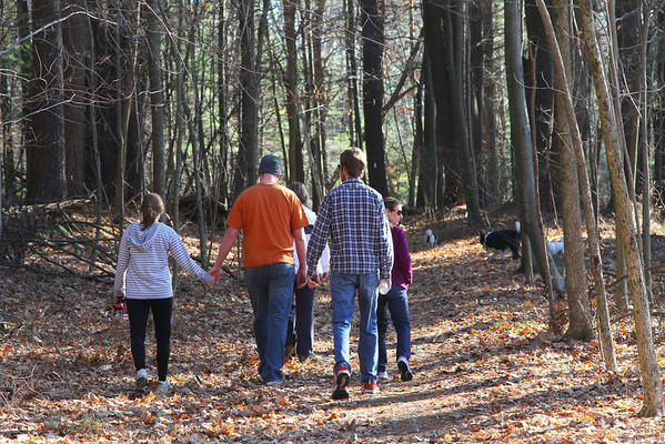Thanksgiving Hike 2012