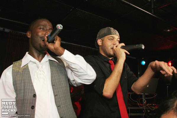 Check One Two & DJ Uniek Perform at Aqua, Beverly Hills 12.11.08