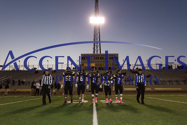 Varsity Football vs Marysville 10/16/15