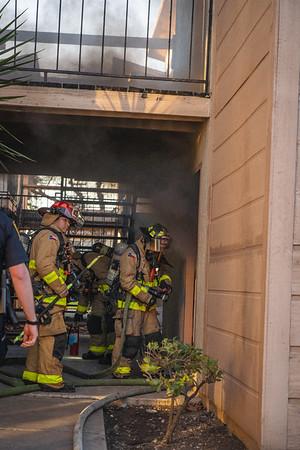 Apartment Fire  - 1010 N. Frio, San Antonio, TX - 1/3/21