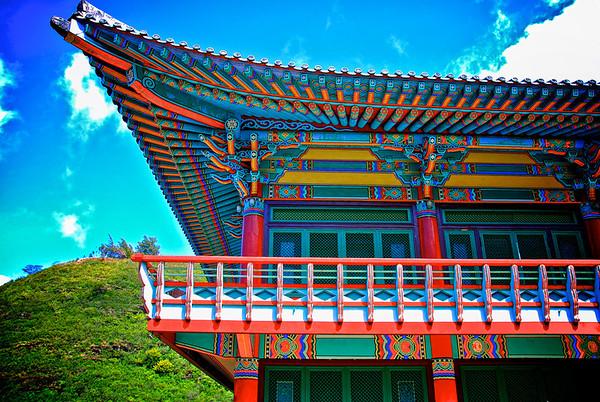 Korean Temple - Palolo Valley, Hawaii