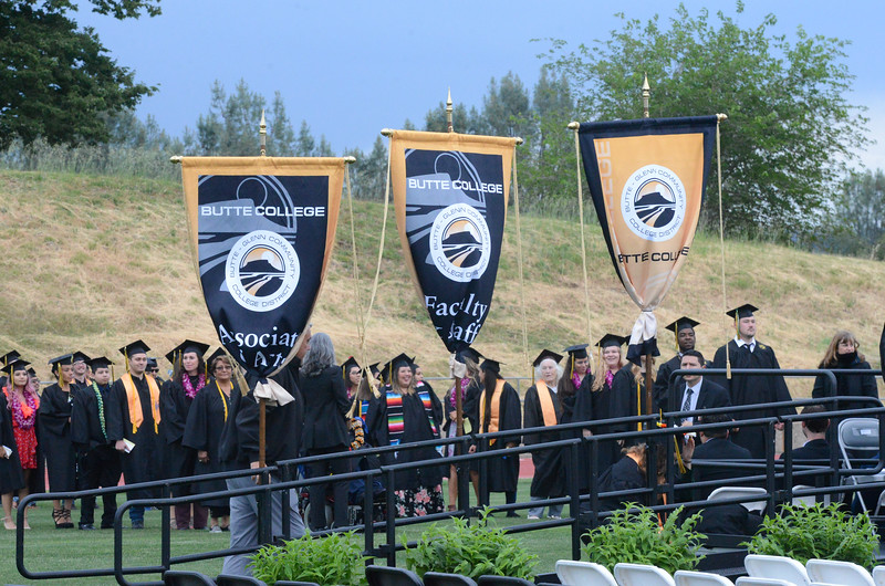 Butte College Graduation, May 25, 2018,  in Chico, California. (Carin Dorghalli -- Enterprise-Record)