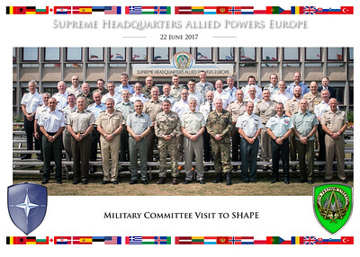 Military Committee Visit to SHAPE