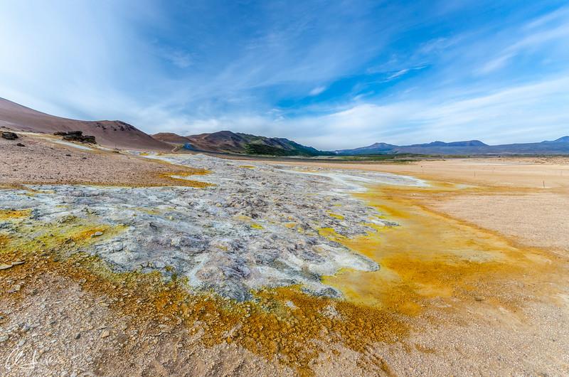 Iceland | Leihrnjukur Schwefelfeld