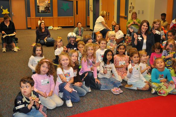 Thank a Vet Week Storytimes 2011