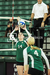 2013 Cal Poly Volleyball vs Fullerton