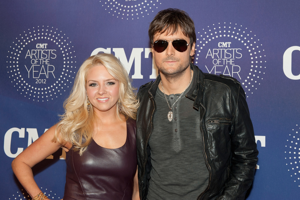 Description of . Katherine Blasingame and Eric Church attend the 2012 CMT