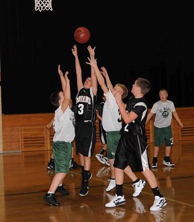 20111210 St. Mary's vs Sleepy Eye Elementary Boys Basketball
