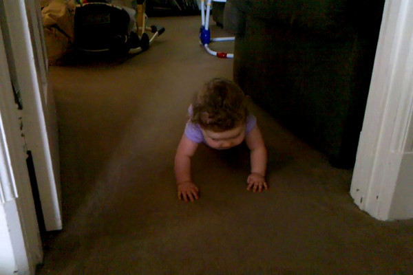 crawling! - May 31, 2010
