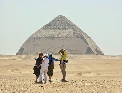 Pyramids at Dahshur
