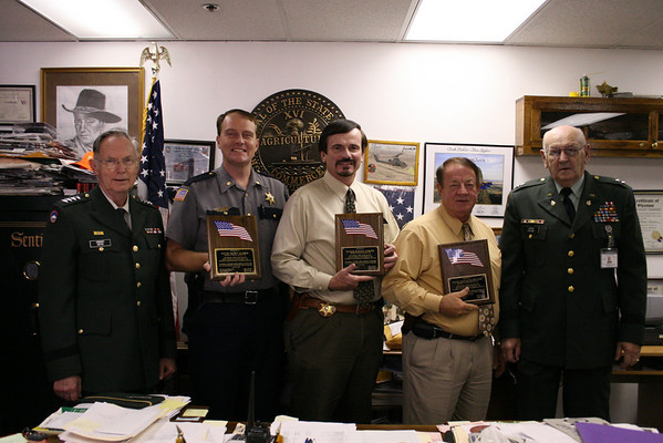 Sheriff's Department receives awards
