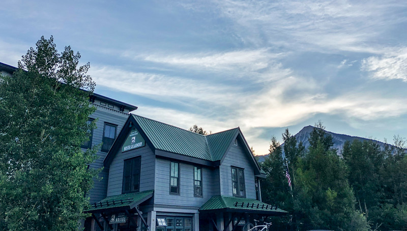 Ian and Dad Crested Butte Can'd Aid Weekend - 7/20/18