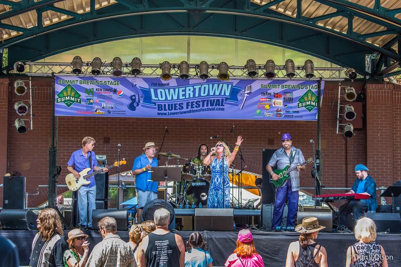 Dee Miller Band--Lowertown Blues Festival 2015-Mears Park-St. Paul MN