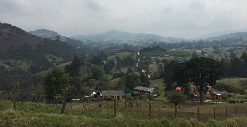 road to Chingaza National Park, Columbia March April 2019