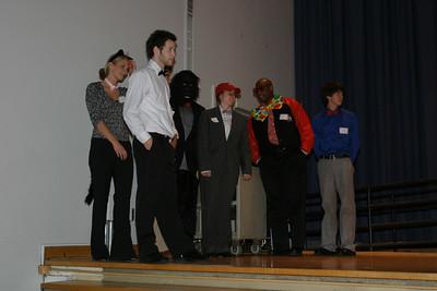 Costume contest with Gordon Gee