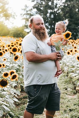 Barber Family Sunflowers