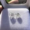 2.49ctw Antique Pear Diamond Pair GIA E VS2/GIA D VS2 3