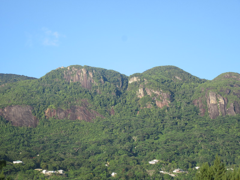 020_Mahé Island. Dominated by a mountain range that forms the backbone of the island.JPG