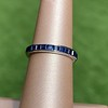 Art Deco Sapphire and Ruby Matched Bands, by Tiffany & Co 3