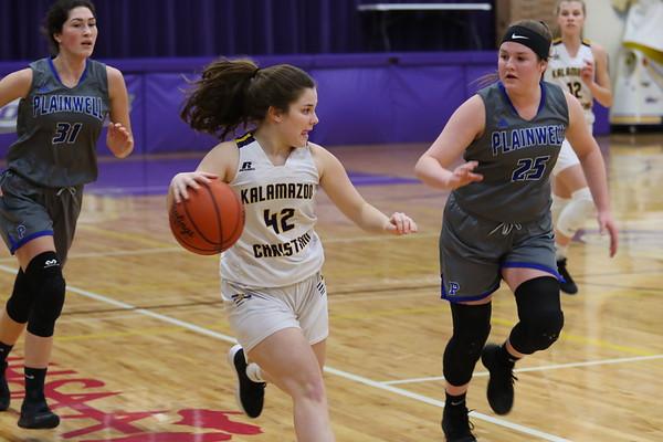Basketball Girls Varsity vs Plainwell - KCHS 2/18/20