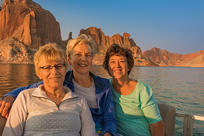 2018-08 Lake Powell with Kevin & Robyn Martin & Steve & Carol Walker
