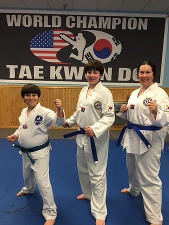 TKD Belt Testing 111315