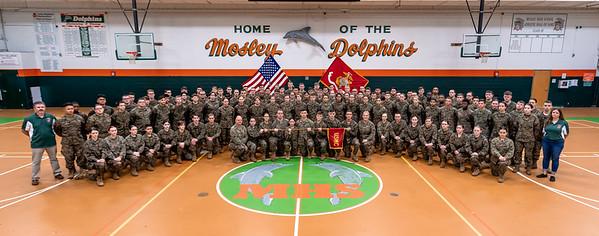 Mosley High Marine Corp JROTC 2019-2020