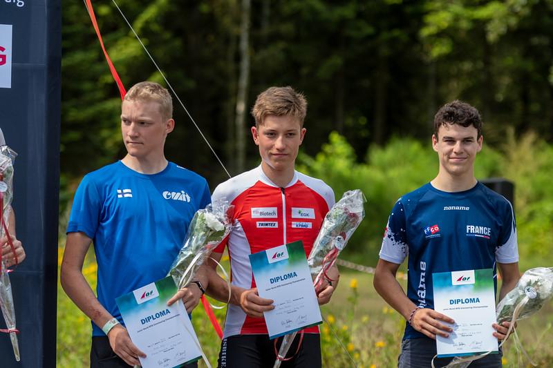 Juha Lilja - nuorten MM neljäs
