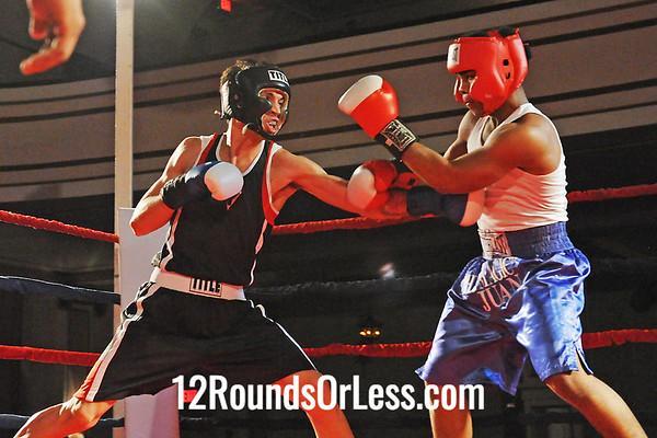 Bout #6 Juan Rosebury, Al Jones, Cleveland -vs- Osvaldo Ramirex, Ohio City Boxing, Cleveland