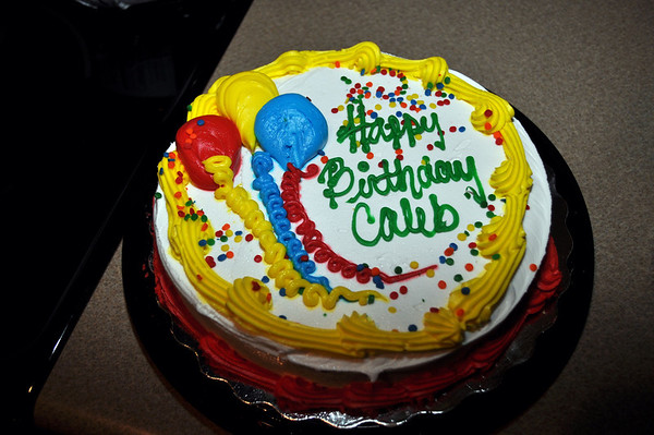 Caleb Birthday 2011
