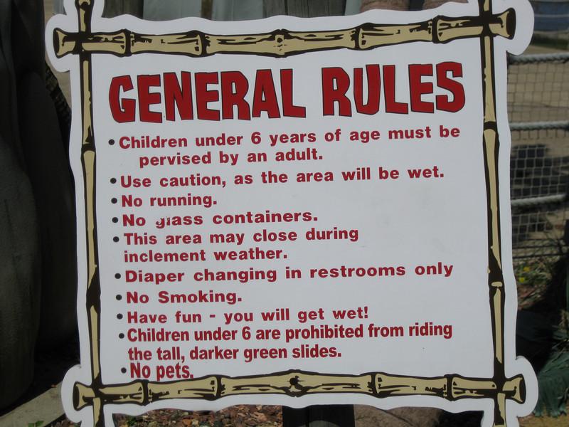 Castaway Island rules.