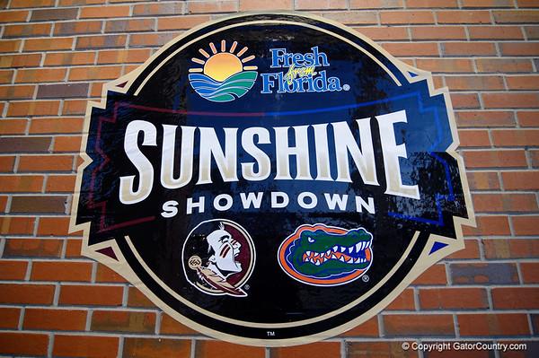 Florida Gators Baseball vs Florida State Seminoles  03-13-2018