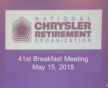 41st Breakfast Meeting - May 15, 2018