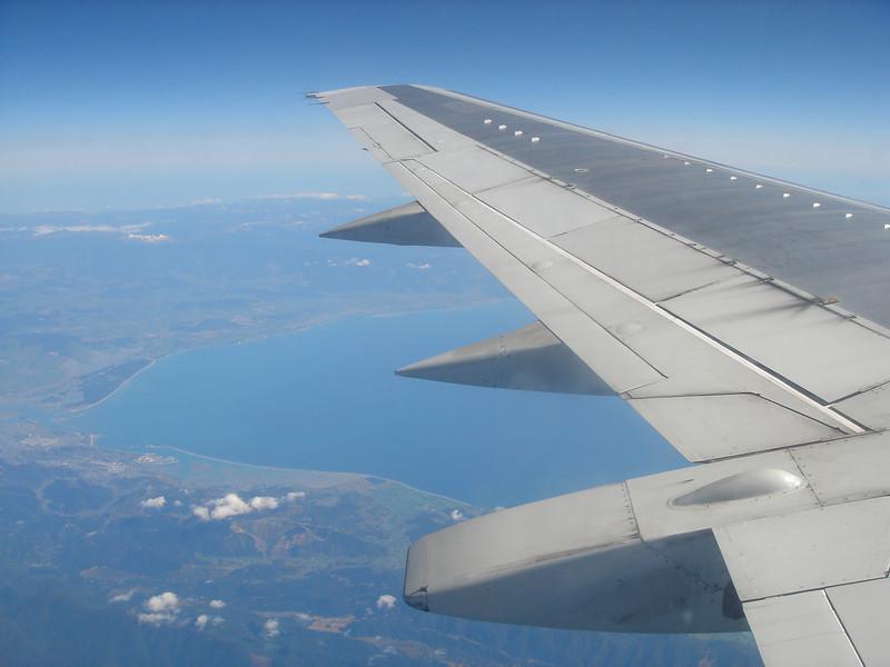 flying back north