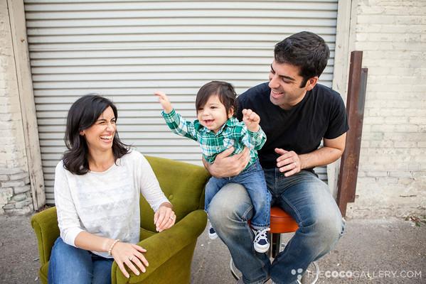 Bahadourian Family . E